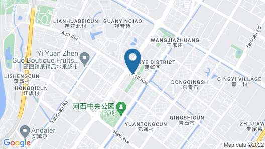 Renaissance Nanjing Olympic Centre Hotel Map