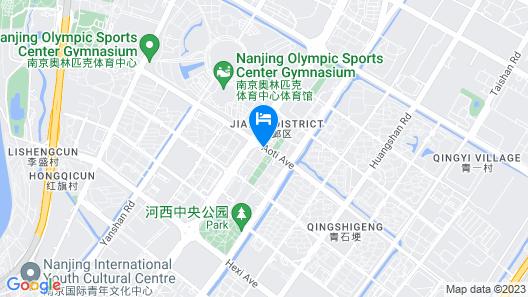 Renaissance Nanjing Olympic Centre Hotel Map