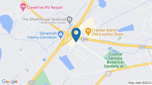 La Quinta Inn by Wyndham Savannah I-95 Map