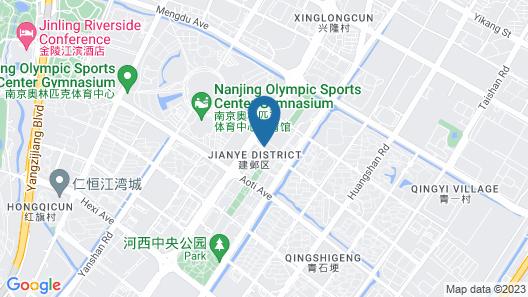 Mercure Nanjing Olympic Centre Map