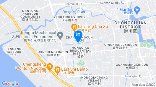 Holiday Inn Express Nantong Downtown, an IHG Hotel Map