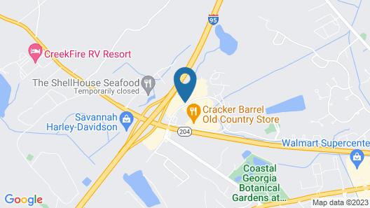 Holiday Inn Savannah S - I-95 Gateway, an IHG Hotel Map
