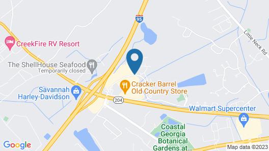 Sans Boutique Hotel & Suites Map