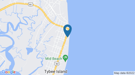 DeSoto Beach Vacations Properties Map