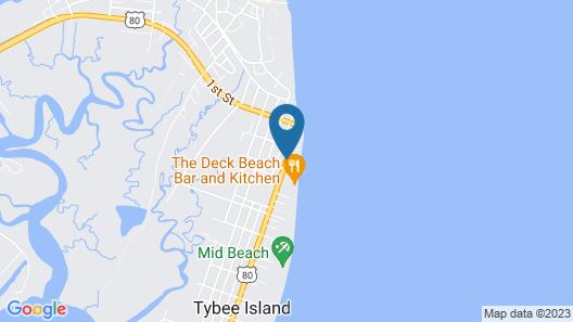 DeSoto Beach Hotel Map