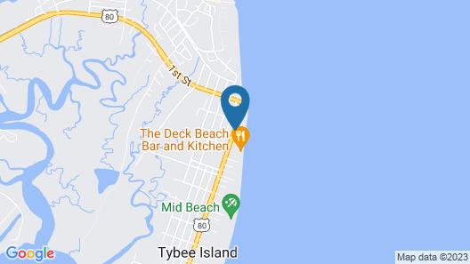 Desoto Beach Bed & Breakfast Map