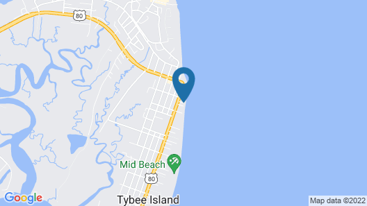 Desoto Beach Terraces Map