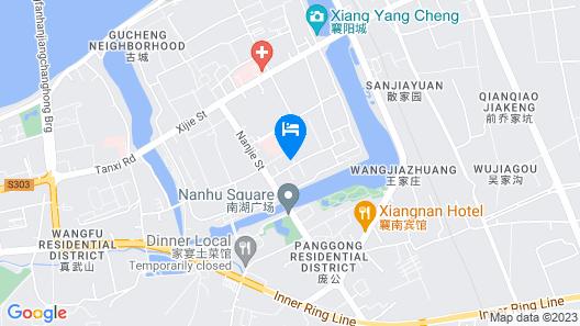 Wangfu Shenghe Boutique Hotel Map