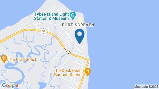 Tybee Island Inn Map