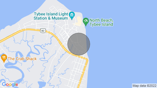 Tybee Island Inn Map