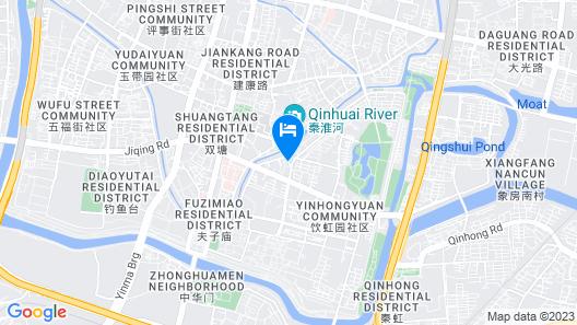 The Hotel V Confucius Temple Map
