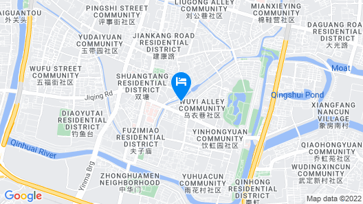 SSAW Boutique Hotel Nanjing Qifeng Confucius House Map