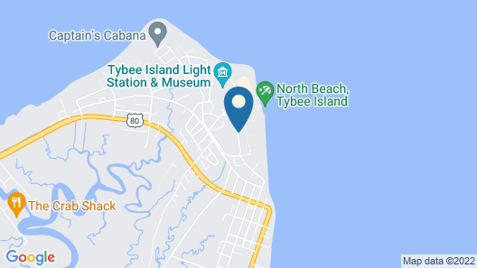Surf Song Bed & Breakfast Map