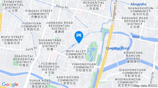 7 Days Inn Nanjing Confucius Temple Central Branch Map