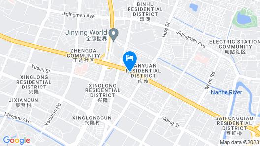 G▪Hotel Nanjing Map