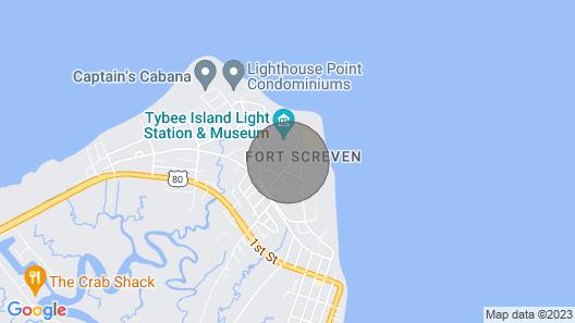 Pet-friendly Apt Near Lighthouse, 1.5 Blocks To Beach Map