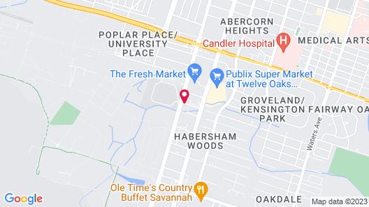Hampton Inn & Suites Savannah/Midtown Map