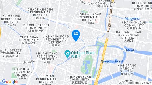 Atour Hotel Confucius Temple Nanjing Map