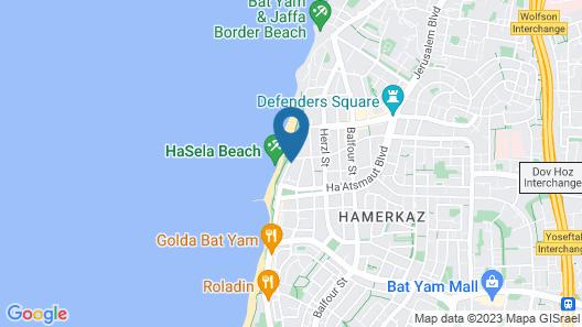 Spat Beach Map