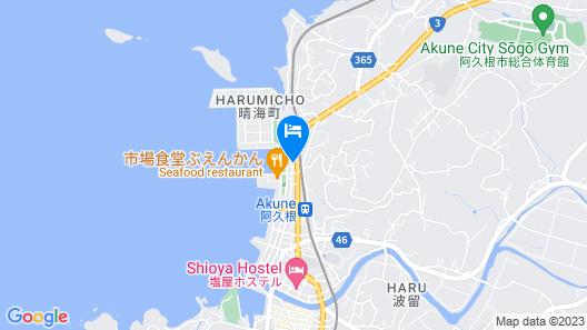 Oyado Midokoi Map