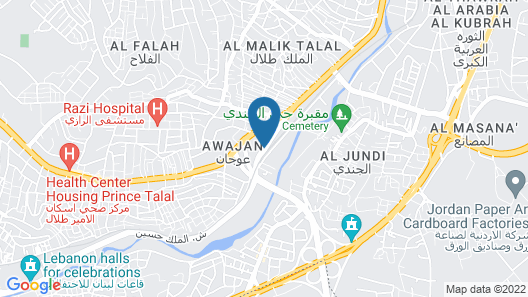 Andaleeb Hotel Map