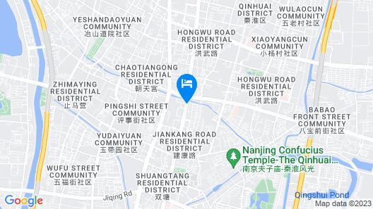 Nanjing Mo He Ting Hotel Map