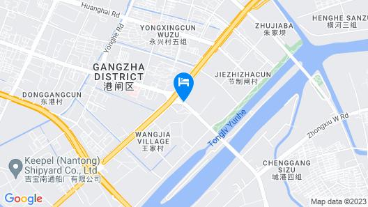 GreenTree Inn Nantong Gangzha District HongMing Plaza Express Hotel Map