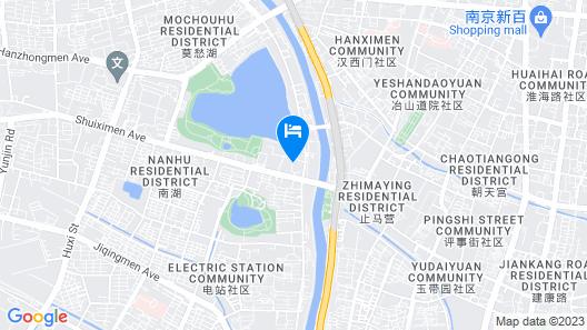GreenTree Inn Nanjing Olympic Center Express Hotel Map