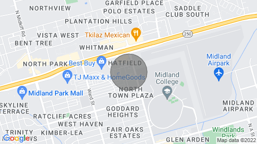 Relaxing Condo Near Midland College Map