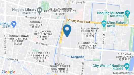 Kempinski Hotel Nanjing Map