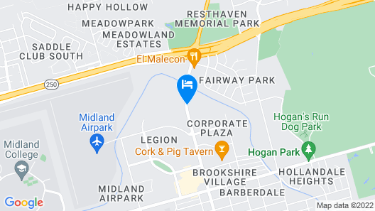 Plaza Inn Map