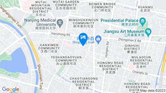 Novotel Nanjing Central Suning Map