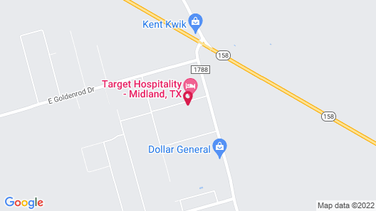 Target Hospitality-Midland Lodge Map