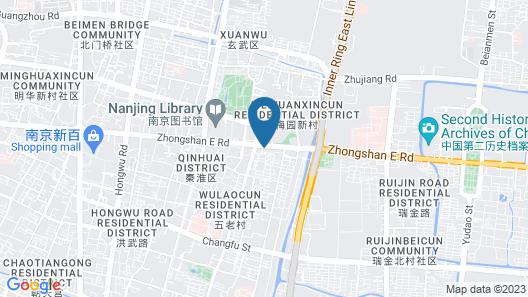 Hanting youjia Hotel (Nanjing Zhongshan East Road President Palace) Map