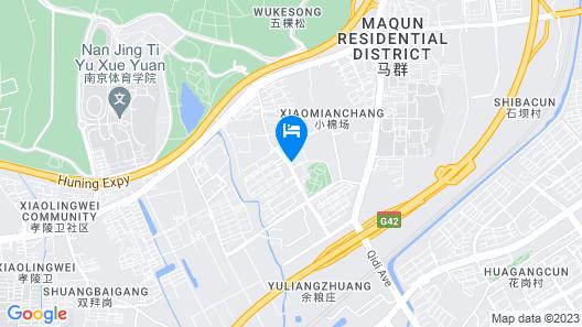 Atour Hotel Maqun Nanjing Map