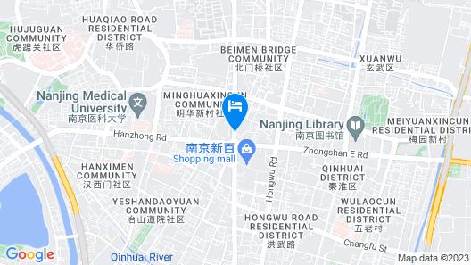 The Ritz-Carlton, Nanjing Map