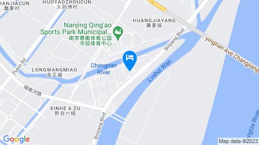 Even Hotels Nanjing Yangtze River Map