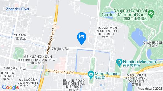 Nianfa 168 Hotel - Nanjing Map