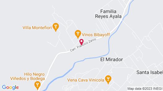 Rancho Toros Pintos Map