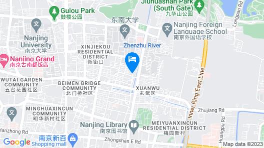 GreenTree Alliance Xuanwu Jiming Si Metro Station Hoetl Map