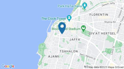 Margosa Hotel Map