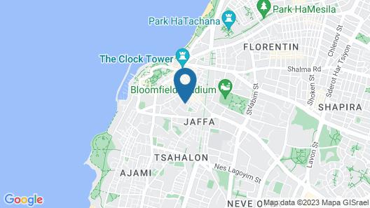 Jaffa's Penthouse Hostel Map