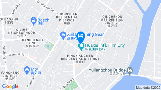 Hanting Express Huayangtang Store Map