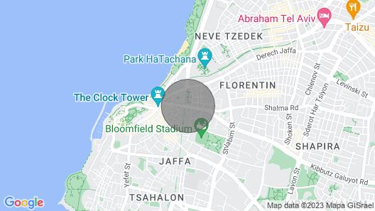 Suite Bat Ami Tel Aviv Jaffa Map