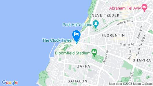 The Setai Tel Aviv Map