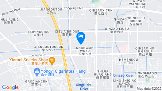 Holiday Inn Nantong Oasis Centre, an IHG Hotel Map