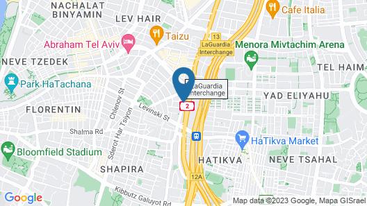 Nahalat Yehuda Residence Map