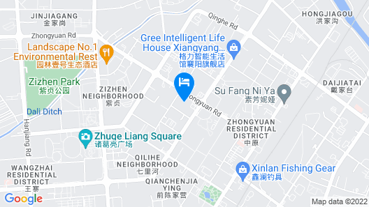 Vienna Hotel Xiangyang Railway Station Map