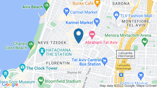 Meir's Boutique Guesthouse Map