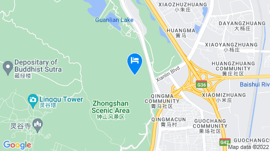 Nanjing New Century Hotel Map